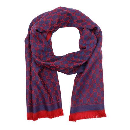 Gucci  Accessoire  -  New Sten Scarf Red Blue  - in rot  -  Accessoire für Damen pink