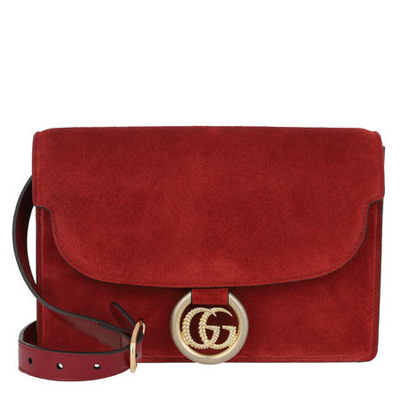 Gucci  Crossbody Bags - GG Ring Shoulder Bag - in rot - für Damen rot