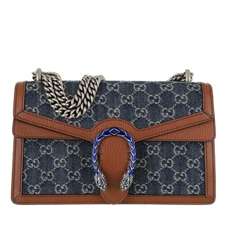 Gucci  Crossbody Bags - Small Dionysus Crossbody Bag - in blau - für Damen