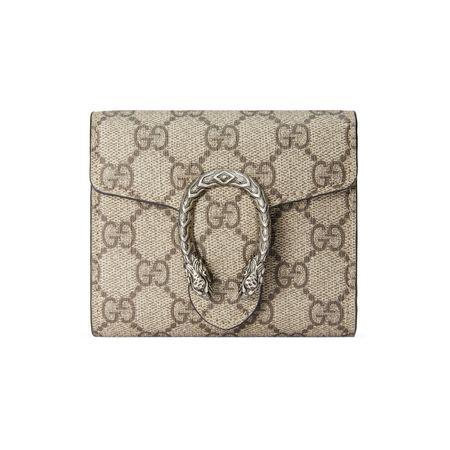 Gucci Dionysus Brieftasche braun