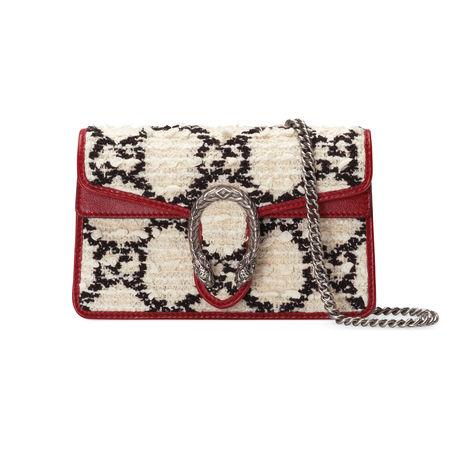 Gucci Dionysus Super-Mini-Tasche braun