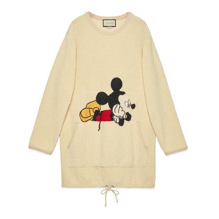 """Gucci """"Disney x """" Kleid aus Baumwolle orange"""