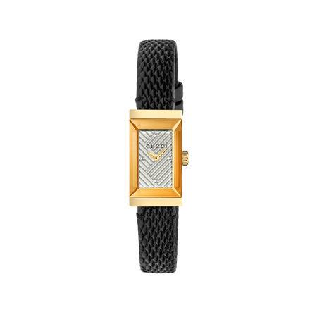 Gucci G-Frame Uhr, 14x25mm schwarz