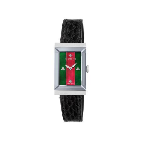 Gucci G-Frame Uhr, 21x34mm schwarz