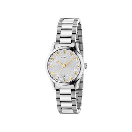 Gucci G-Timeless-Uhr, 27 mm braun