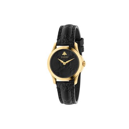 Gucci G-Timeless Uhr, 27mm schwarz