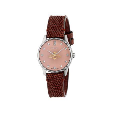 Gucci G-Timeless Uhr, 29mm braun