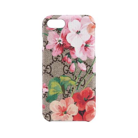 Gucci GG Blooms iPhone 8-Etui braun