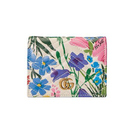 Gucci GG Brieftasche mit Print von Ken Scott, nur online