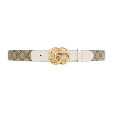 Gucci GGMarmont Gürtel grau