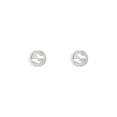 Gucci GGOhrringe aus Silber grau
