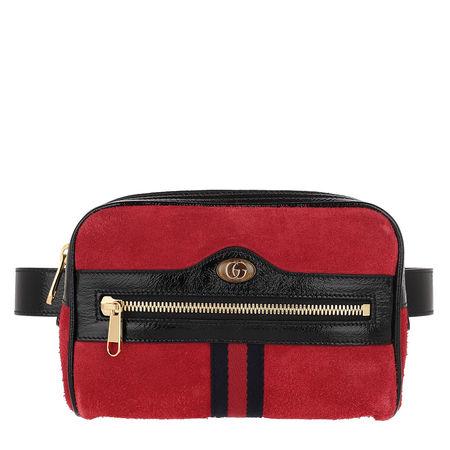 Gucci  Gürteltasche  -  Ophidia Belt Bag Small Red  - in rot  -  Gürteltasche für Damen rot
