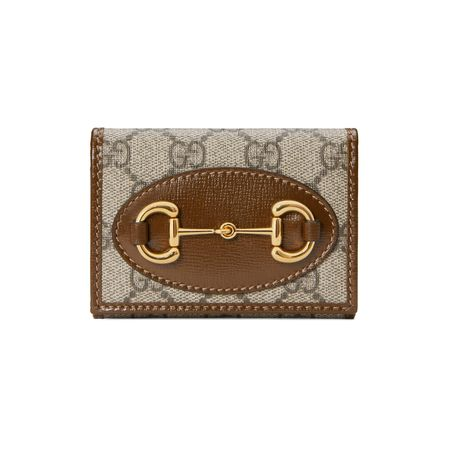 Gucci  Horsebit 1955 Brieftasche braun