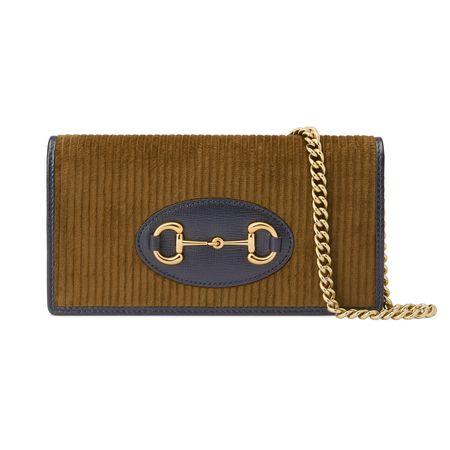 Gucci Horsebit1955Ketten-Brieftasche