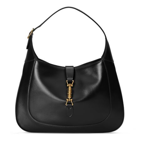 Gucci Mittelgroße Jackie 1961 Hobo-Tasche schwarz