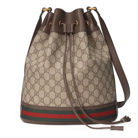 Gucci Ophidia BucketBag mit GG braun