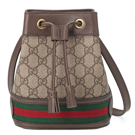 Gucci Ophidia GG Mini Bucket Bag braun