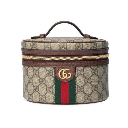 Gucci Ophidia Kosmetiketui braun