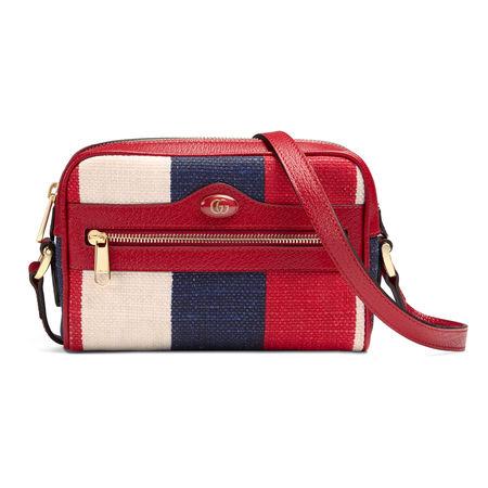 Gucci Ophidia Mini-Tasche rot