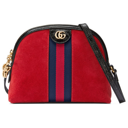 Gucci Ophidia Schultertasche rot