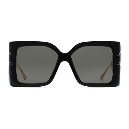 Gucci Quadratische Sonnenbrille grau