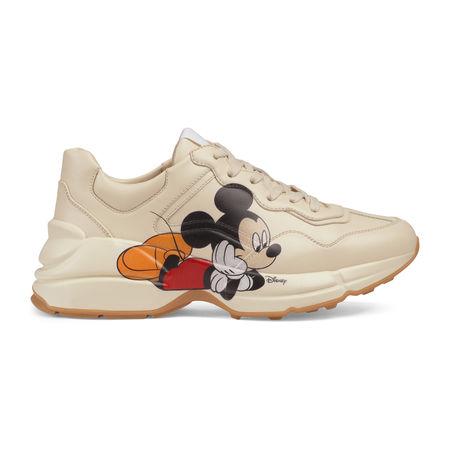 """Gucci Rhyton """"Disney x """" Damensneaker braun"""