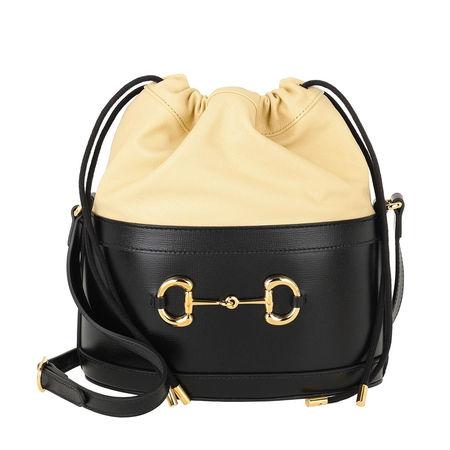 Gucci  Rucksäcke - Horsebit Bucket Bag - in schwarz - für Damen schwarz