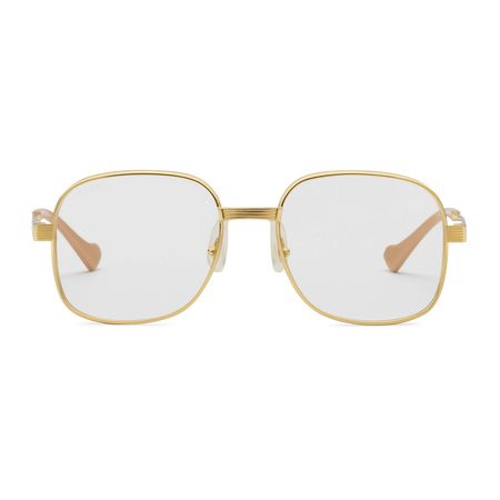 Gucci Runde Sonnenbrille grau