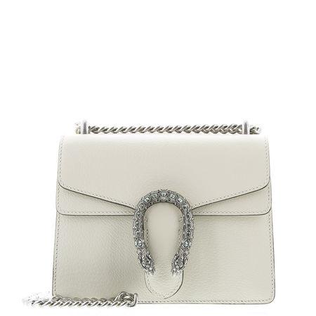 Gucci  - Schultertasche Dionysus Mini aus Leder braun
