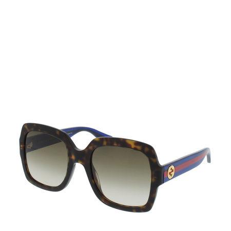Gucci  Sonnenbrille - GG0036S - in fawn - für Damen grau