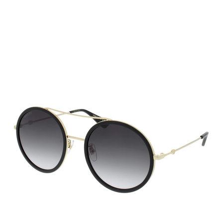 Gucci  Sonnenbrille - GG0061S 001 56 - in schwarz - für Damen grau