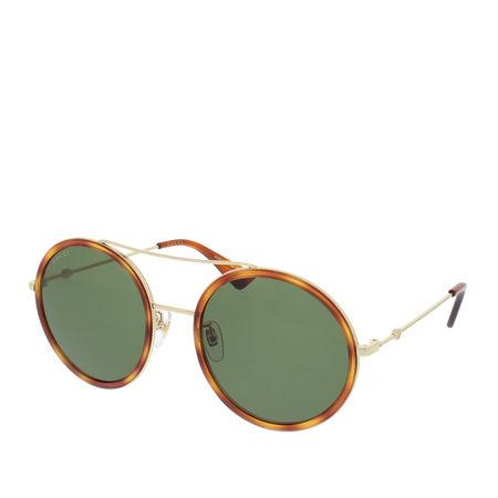 Gucci  Sonnenbrille  -  GG0061S 002 56  - in braun  -  Sonnenbrille für Damen grau
