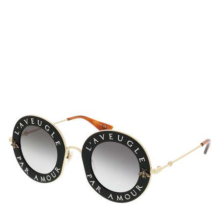 Gucci  Sonnenbrille - GG0113S 44 - in black - für Damen