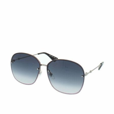 Gucci  Sonnenbrille - GG0228S 63 - in dark gray - für Damen