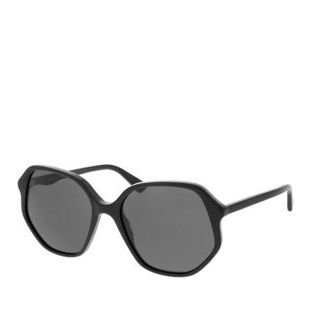 Gucci  Sonnenbrille  -  GG0258S 56 001  - in schwarz  -  Sonnenbrille für Damen grau