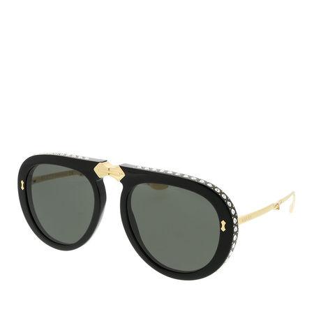 Gucci  Sonnenbrille  -  GG0307S 56 001  - in schwarz  -  Sonnenbrille für Damen grau