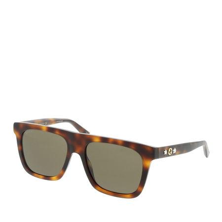 Gucci  Sonnenbrille  -  GG0347S 54 003  - in braun  -  Sonnenbrille für Damen braun