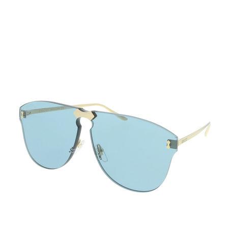 Gucci  Sonnenbrille  -  GG0354S 003 99  - in blau  -  Sonnenbrille für Damen grau