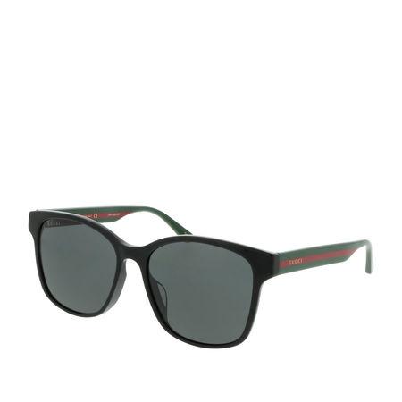 Gucci  Sonnenbrille - GG0417SK 56 - in schwarz - für Damen
