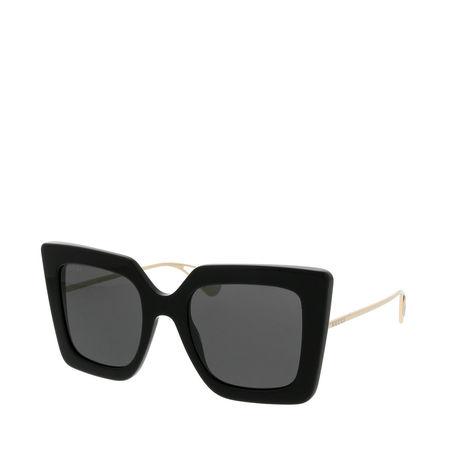Gucci  Sonnenbrille  -  GG0435S 51 001  - in schwarz  -  Sonnenbrille für Damen schwarz