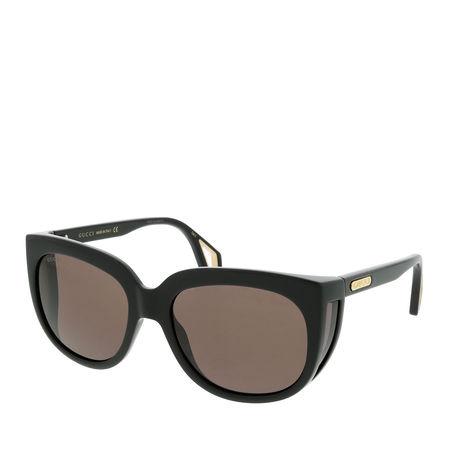 Gucci  Sonnenbrille  -  GG0468S 57 001  - in schwarz  -  Sonnenbrille für Damen braun