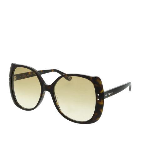 Gucci  Sonnenbrille - GG0472S 56 - in braun - für Damen orange