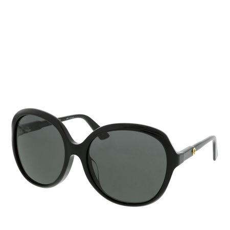 Gucci  Sonnenbrille  -  GG0489SA 58 001  - in schwarz  -  Sonnenbrille für Damen grau