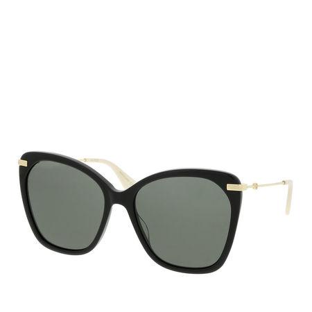 Gucci  Sonnenbrille  -  GG0510S 56 001  - in schwarz  -  Sonnenbrille für Damen grau
