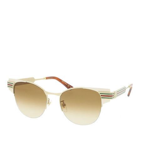Gucci  Sonnenbrille  -  GG0521S 52 004  - in braun  -  Sonnenbrille für Damen orange