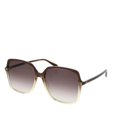 Gucci  Sonnenbrille  -  GG0544S 57 004  - in braun  -  Sonnenbrille für Damen braun