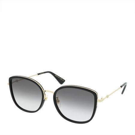 Gucci  Sonnenbrille - GG0606SK 56 - in schwarz - für Damen grau