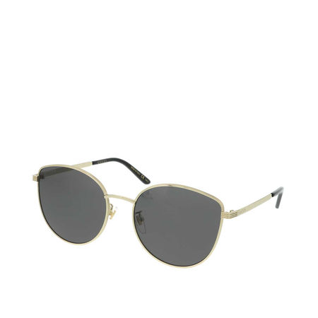 Gucci  Sonnenbrille - GG0807SA-001 58 Sunglass WOMAN METAL - in gold - für Damen grau