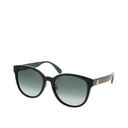 Gucci  Sonnenbrille - GG0854SK-001 56 Sunglass WOMAN INJECTION - in black - für Damen grau
