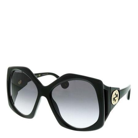 Gucci  Sonnenbrille - GG0875S-001 62 Sunglass WOMAN INJECTION - in schwarz - für Damen